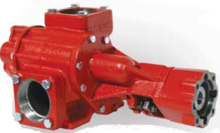 Roper 3648MBHFRV Pump with Hydrualic Motor