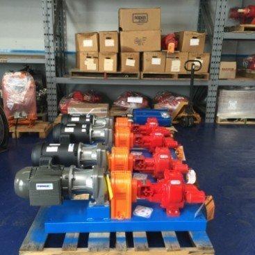 Roper 3617HBFRV Gear Pump Pkg